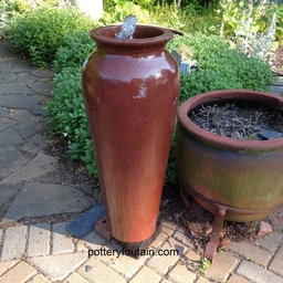 We Had An Inquiry Today From A Customer In Idaho. She Wanted To Know If Our  Urns Can Be Made Into Self Contained Fountains. Most Of Our Fountains Are  Shown ...