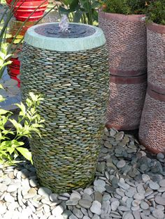 For Pricing More Info Visit Our Pebble Stone Urn Web Site Http Www Pebblepotfountain Index Html
