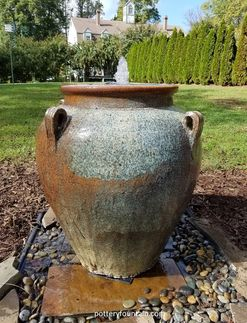 Largo Tuscan Oil Jar Fountain Our Rustic Glazed Collection Is Always A Por Line And This Favorite We Call Color Unicorn Finish